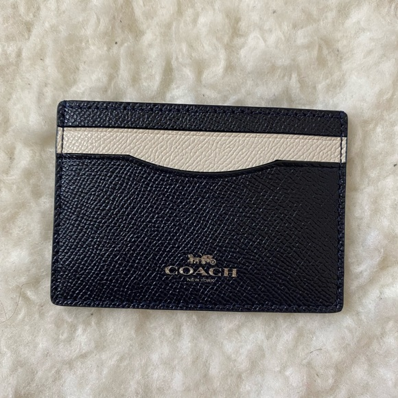 Coach Colorblock Card Case or Card Holder